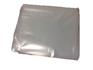 Stock Bags 375X500-125 NATURAL BAGS.WRAPPED.100s HEAVY DUTY