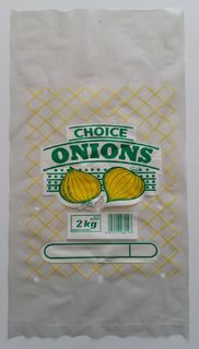 Plastic Printed Veggie Bag - Onion - Fortune