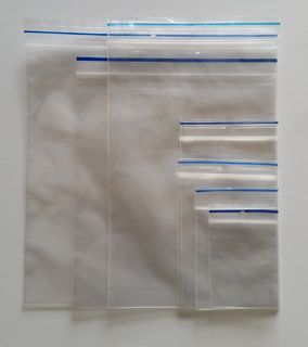 Heavy Duty Resealable Bag 230X305 - Fortune