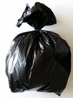 Black Rubbish Bag 600x150x900mm - Fortune
