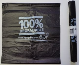 Degradable Rubbish Bag 750x890mm - Fortune