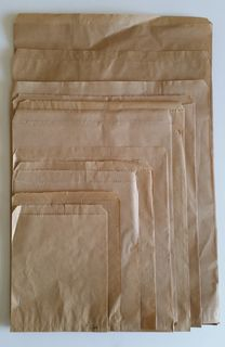 Brown Paper Bag #12 305x470mm - Fortune