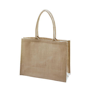 Shopper Bag Laminate Natural - Ecobags