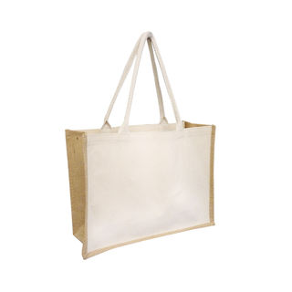 Juco Tote Laminated Natural - Ecobags