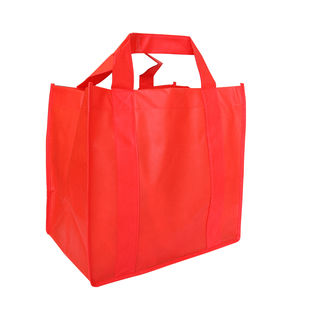 Small Grocer Bag - RED - Ecobags
