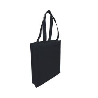 Tote with Gusset - BLACK - Ecobags