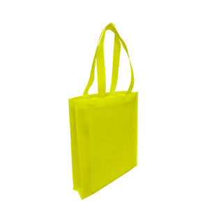 Tote with Gusset - YELLOW - Ecobags