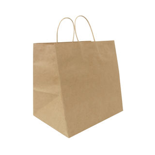 Twisted Handle Paper Bags Extra Wide (300+170)x300 - Ecobags