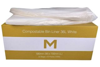Bin Liner 36L Compostable Brown - Matthews