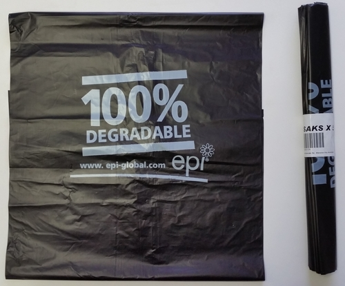 Degradable Rubbish Bag 960x1050mm Green - Fortune