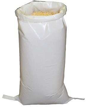 White BOPP Bag + Liner 900x450mm
