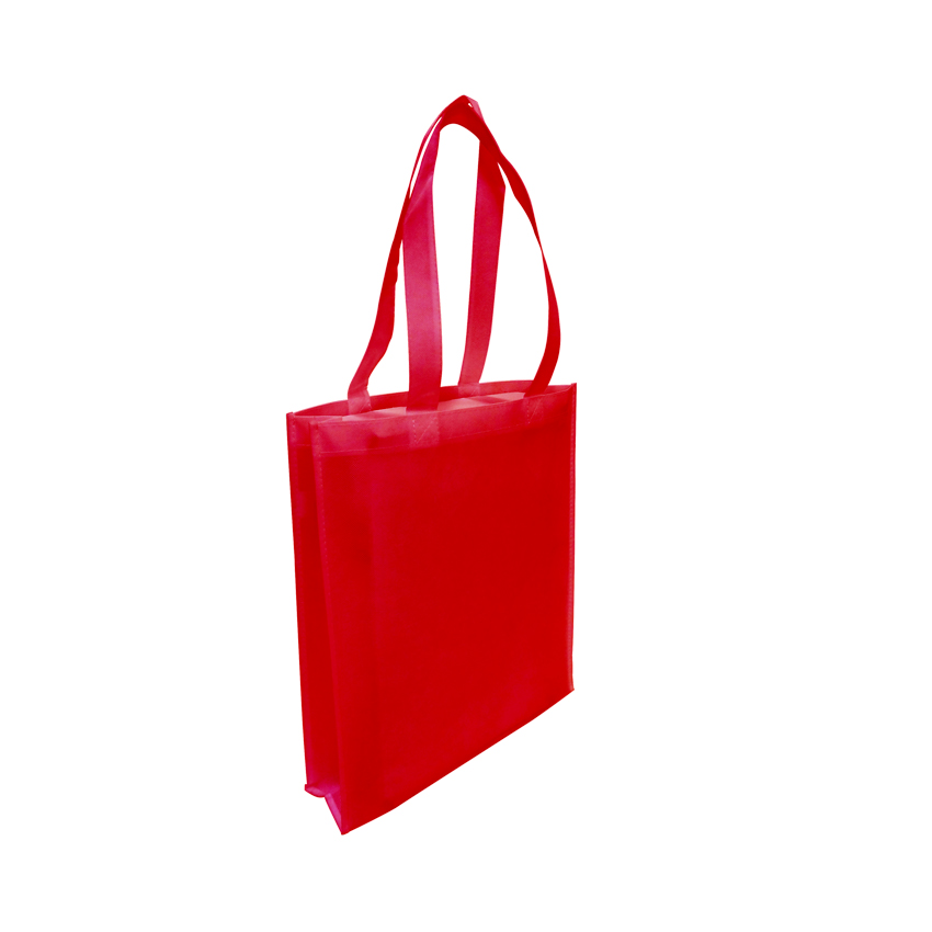 Tote with Gusset - RED - Ecobags