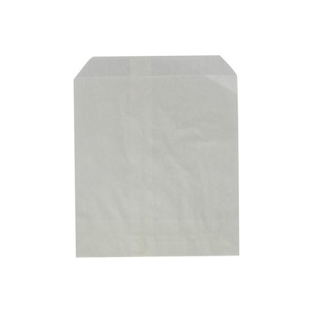 Flat White Confectionery Paper Bag - 105x130 - No.0- UniPak