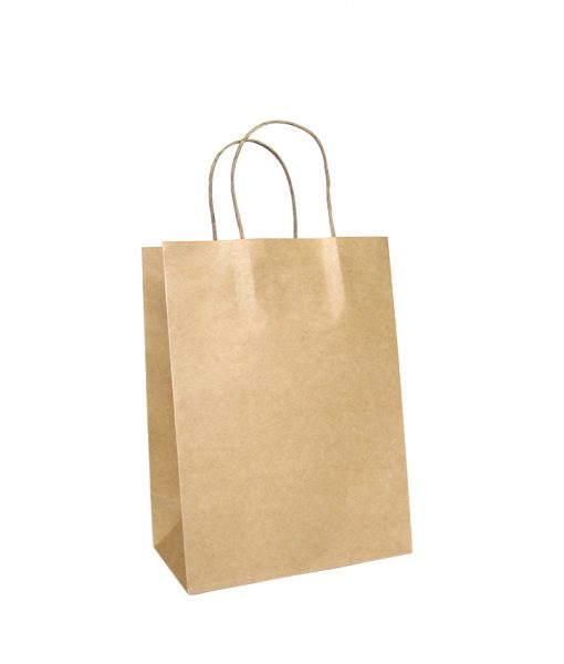 Twisted Handle Paper Bags Small (205+115) x 270