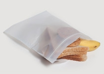 Zip-lock bag 22 x 18cm - Vegware